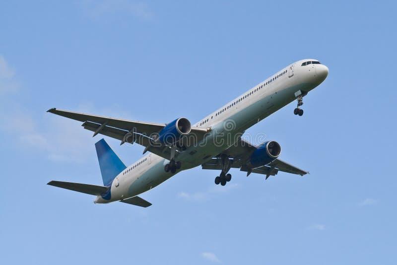 Generisch Lijnvliegtuig royalty-vrije stock afbeeldingen