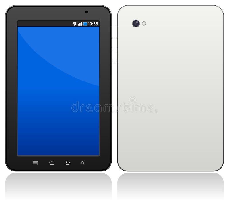 Generische androide Tablette lizenzfreie abbildung