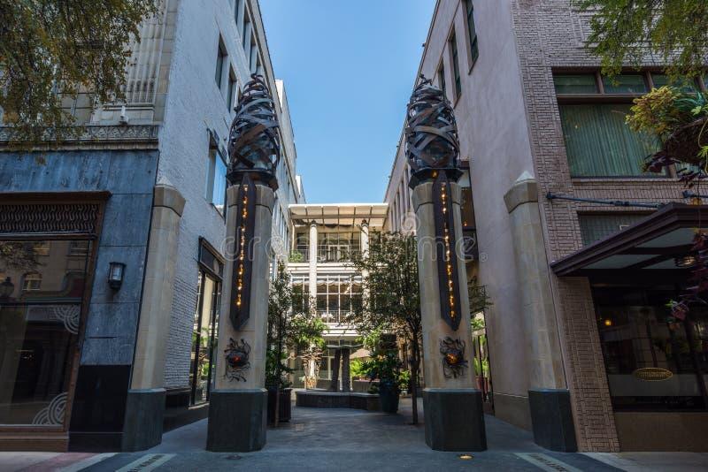 Generische Architectuur in San Antonio, Texas royalty-vrije stock foto's