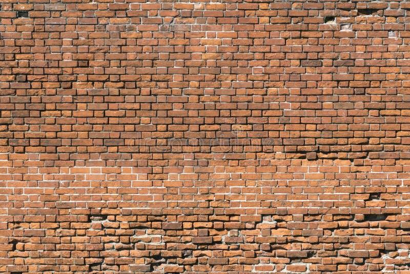 Generische samenvatting van oude rode bakstenen muur stock afbeeldingen