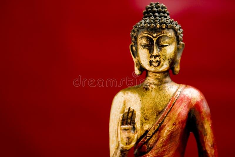 Generische Zenbuddha-Statue stockbilder