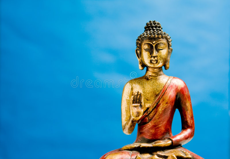 Generische Zenbuddha-Statue lizenzfreies stockfoto