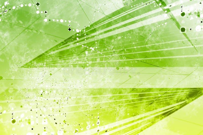 Generischer Grunge futuristischer abstrakter Hintergrund lizenzfreie abbildung