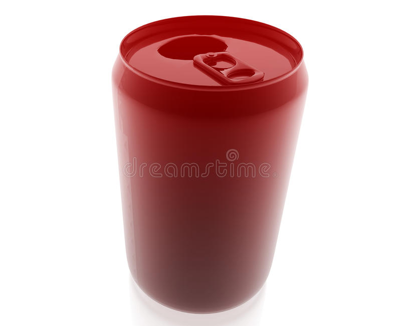 Generisches Getränk kann lizenzfreie abbildung
