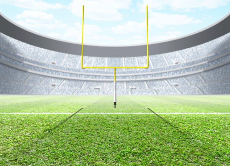 Generisk inomhus stadion vektor illustrationer