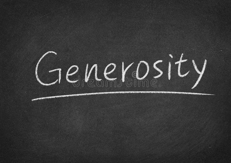 Generosity royalty free stock photos