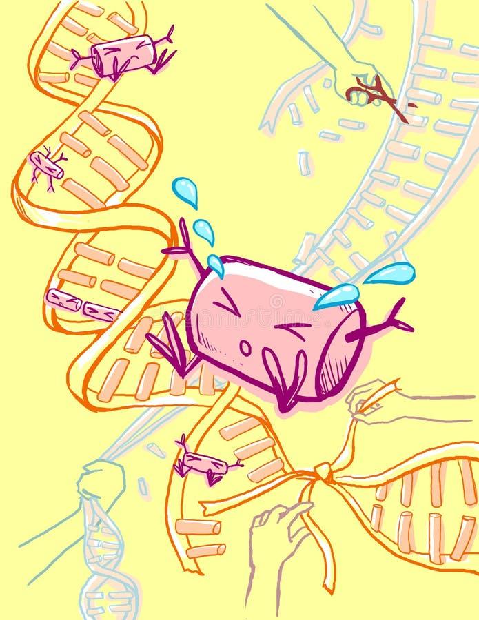 Genetic Modification Engineering Royalty Free Stock Image
