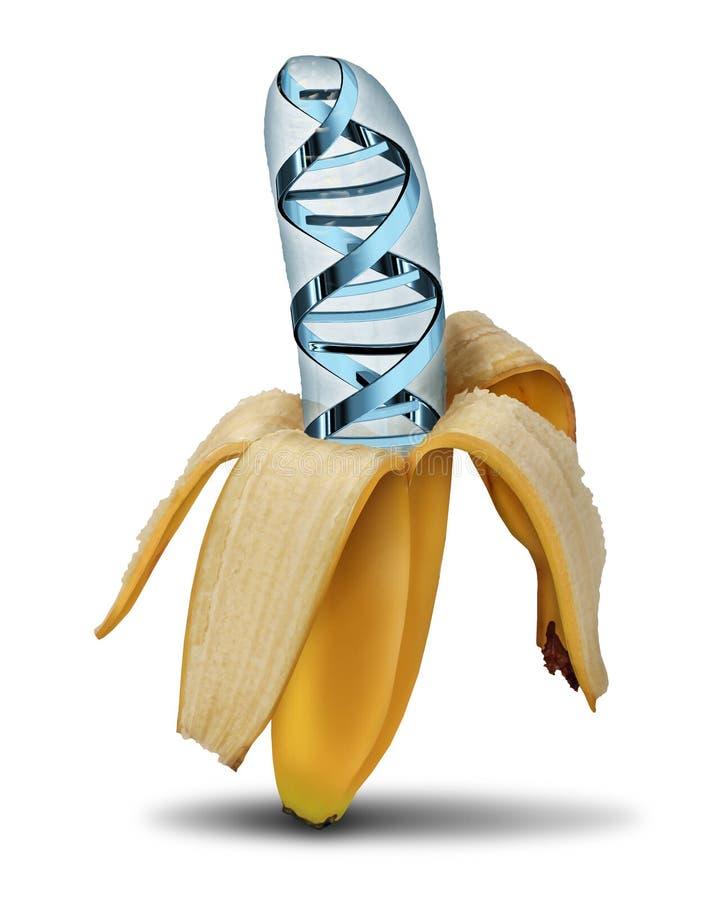Genetically доработанная еда иллюстрация штока