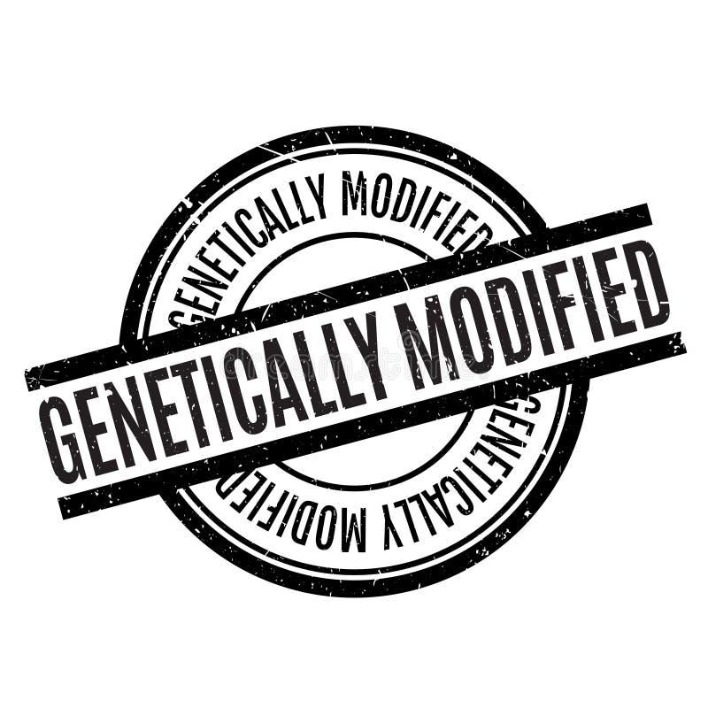 Genetically доработанная избитая фраза бесплатная иллюстрация
