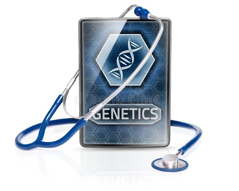 genetics illustration de vecteur