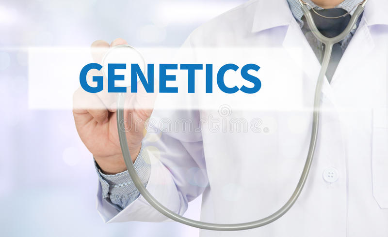 genetik arkivfoto