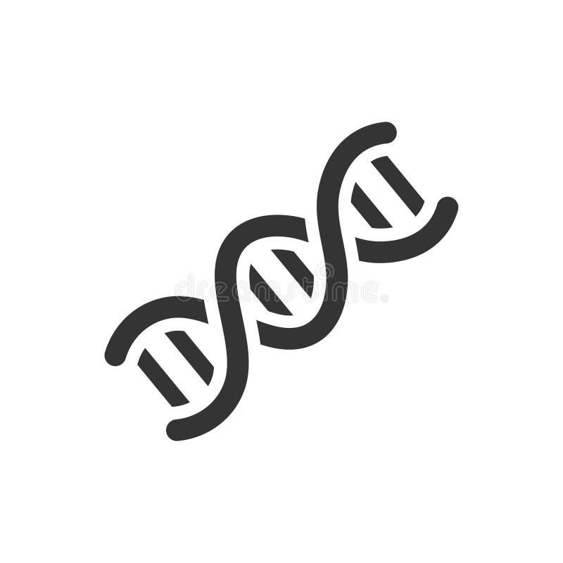 Genetik-Ikone lizenzfreie abbildung