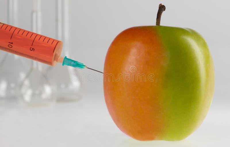 Genetisch gewijzigd voedsel stock foto's