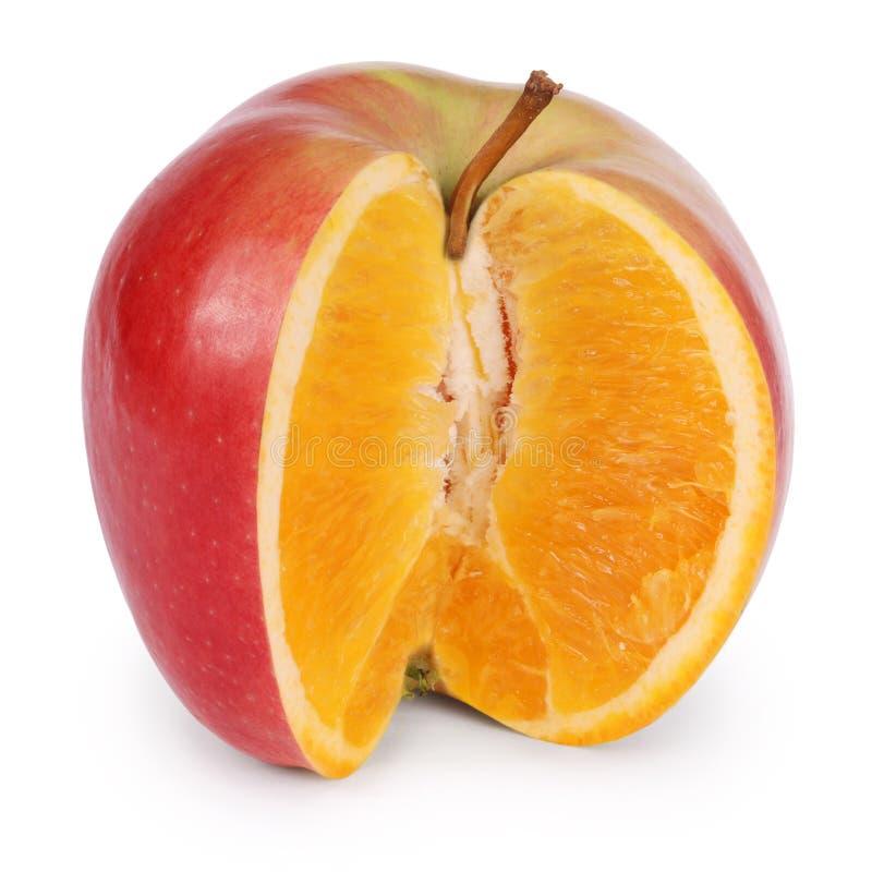 Genetisch gewijzigd voedsel (het Knippen weg) stock foto's