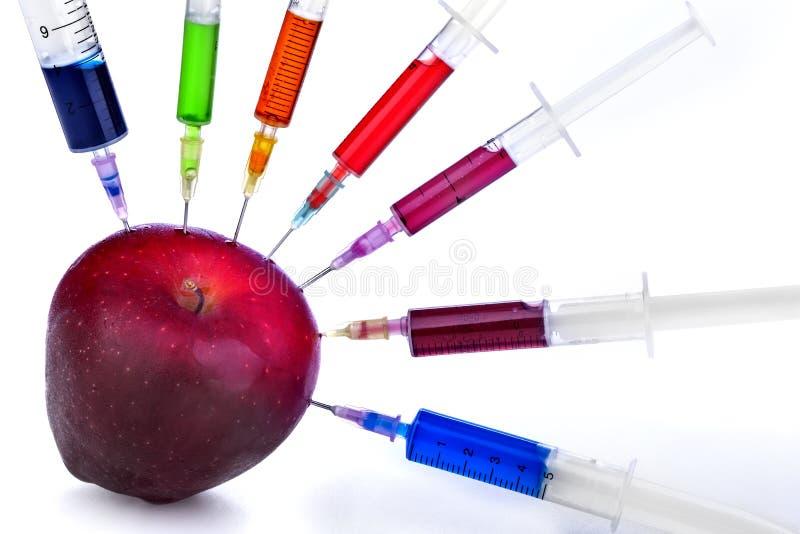 Genetyczna modyfikacja zdjęcia stock