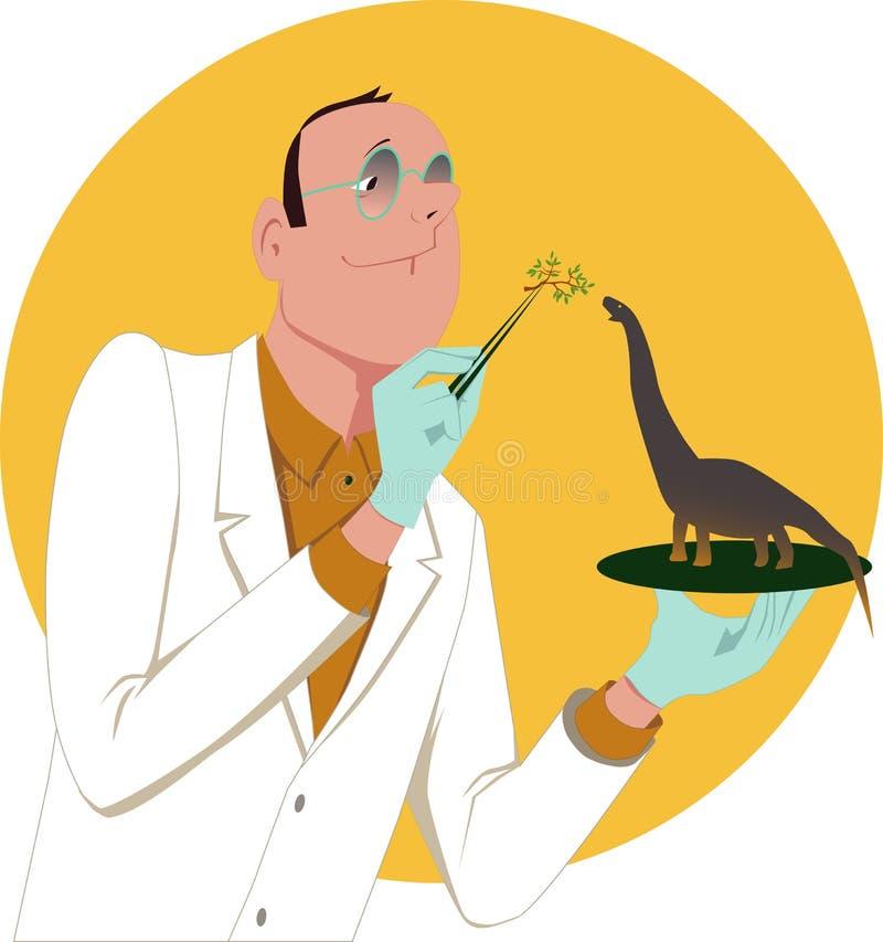 genetycznie zmodyfikowany organizm ilustracja wektor