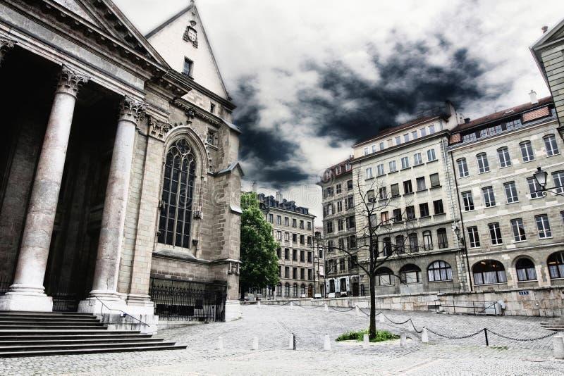 geneva Швейцария стоковая фотография