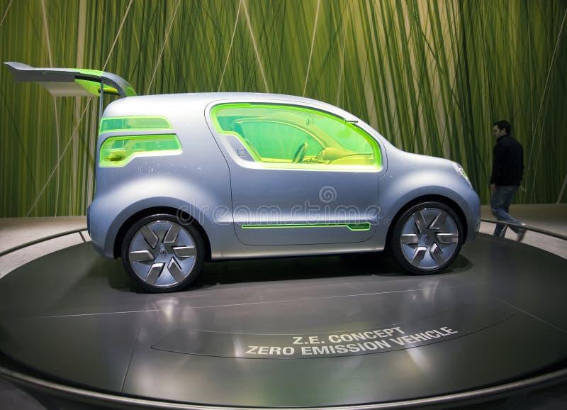 Geneva 2009 Motorshow - Renault Z.E. Concept royalty free stock image
