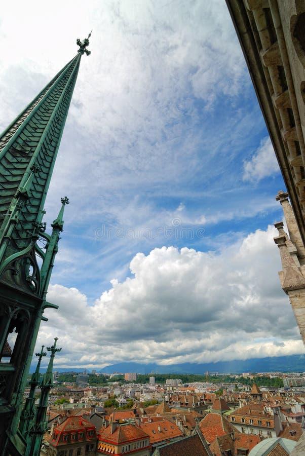 Download Geneva stock image. Image of aerial, cityscape, geneva - 20790615