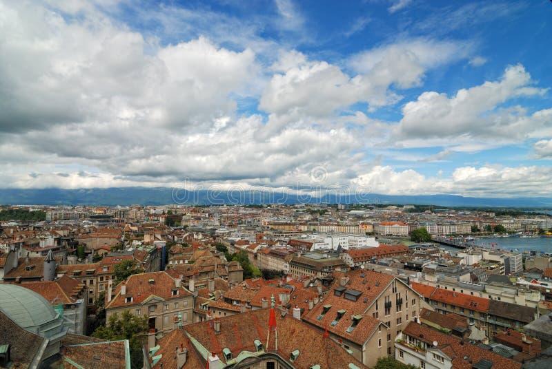 Download Geneva stock image. Image of european, panorama, city - 20790671
