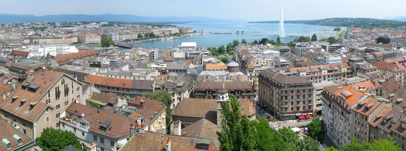 Download Geneva stock photo. Image of mountains, city, shower - 25590944