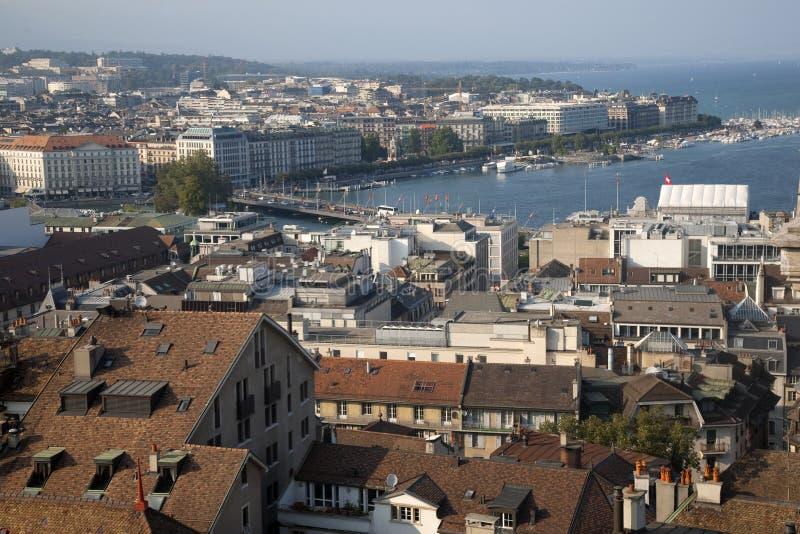 Download Geneva stock image. Image of bridge, city, view, facade - 28702299