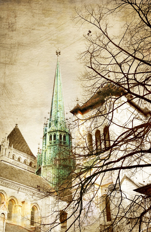 Download Geneva stock image. Image of castle, outdoor, history - 3806931
