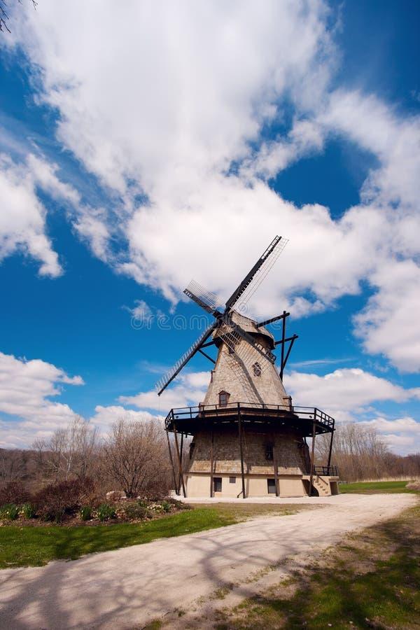 Geneva, Illinois, USA - Windmill stock images