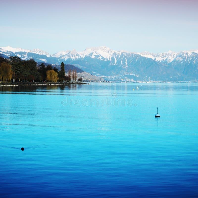 geneva jezioro zdjęcie royalty free