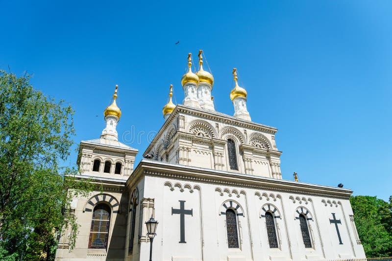 geneva kościelny rosjanin Switzerland fotografia stock