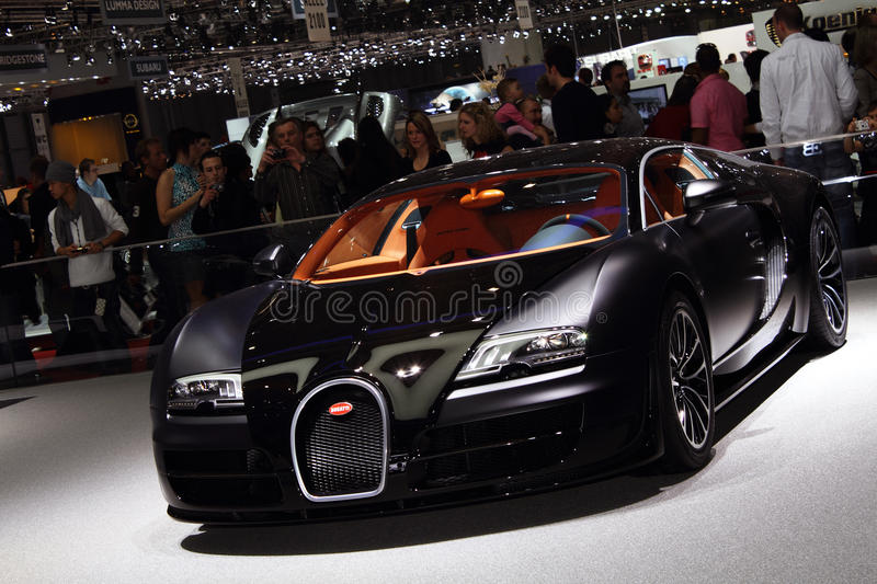 Download Geneva Motor Show 2011 – Bugatti Super Sport Editorial Photography - Image: 18664482