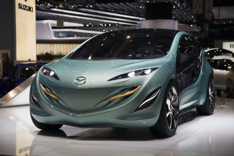 Geneva Motorshow 2009 - Mazda Kiyora Concept Car royalty free stock photos