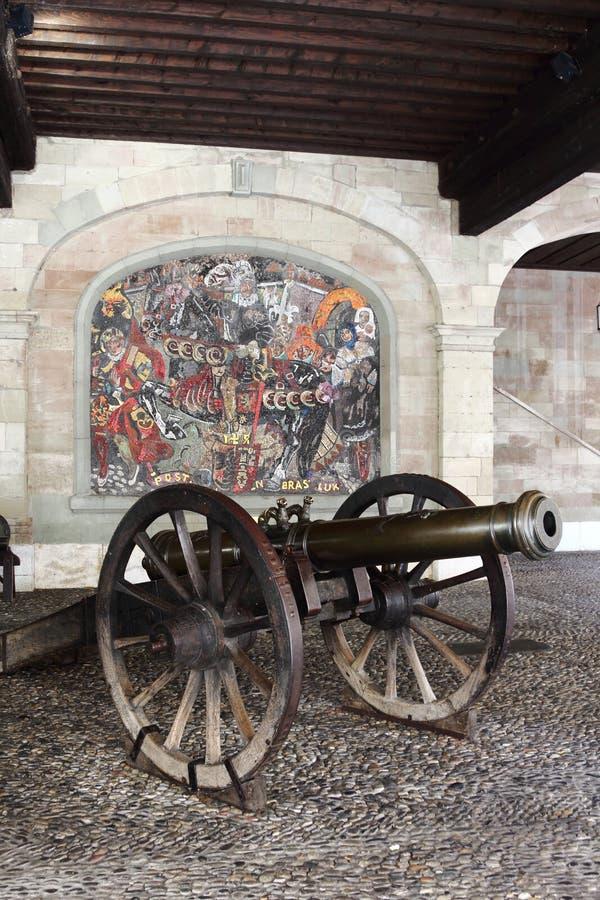 The old Arsenal, Geneva, Switzerland royalty free stock photography