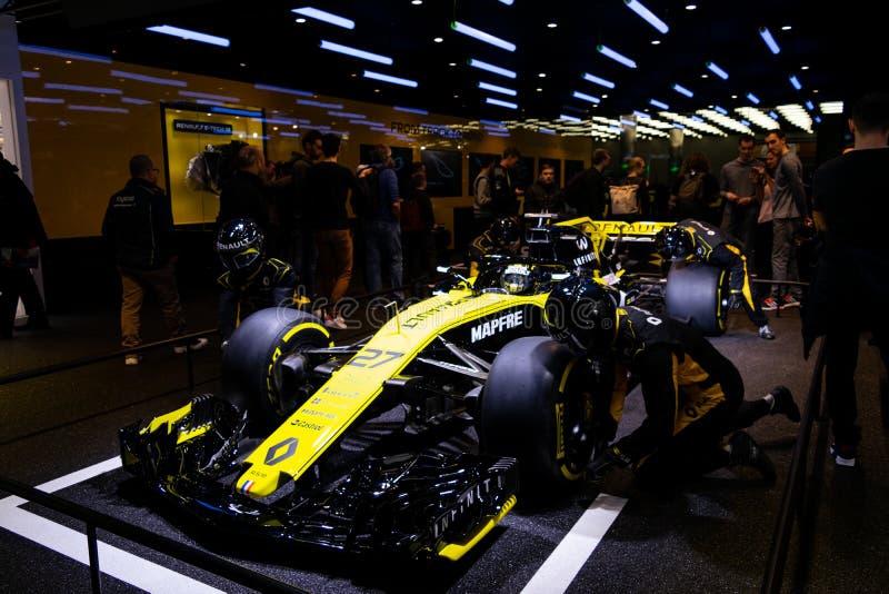 Geneva, Switzerland, march 9, 2019 - International Motor Show stock photography
