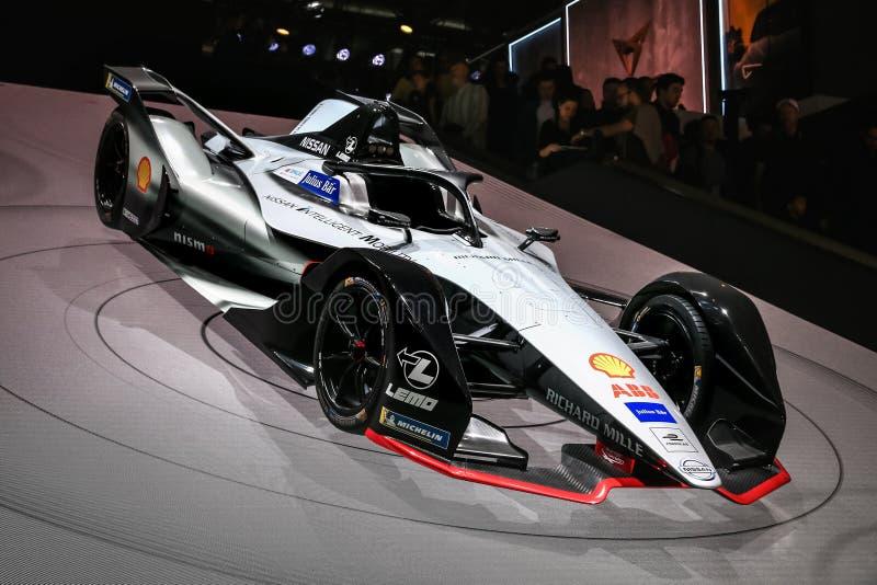 Nissan Formula E stock photography