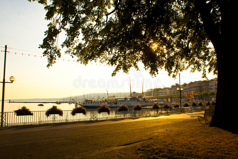 Geneva royalty free stock photo