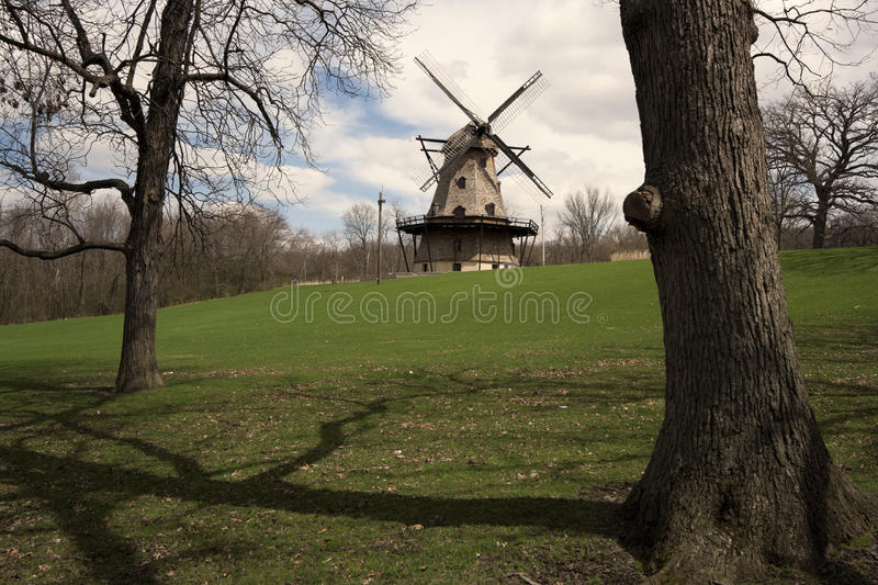 Download Geneva windmill stock image. Image of park, architecture - 28580153