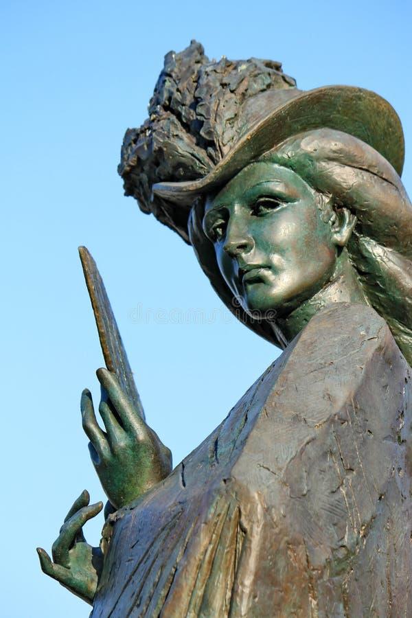 Statua Elisabeth Genewa Bavaria, Szwajcaria (Sissi) zdjęcie stock