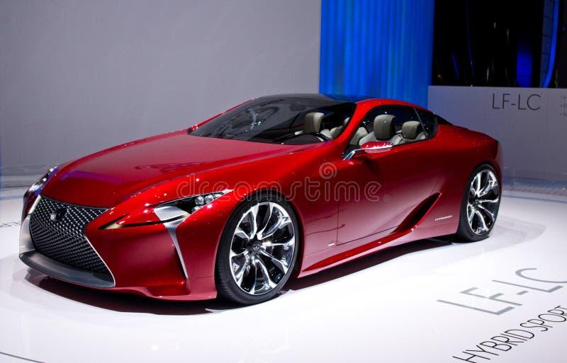 Genf 2012 - Lexus Mischling stockfotografie