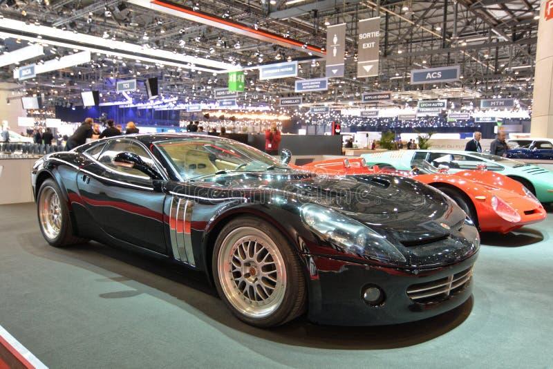 88. Genf-Internationale Automobilausstellung 2018 - Bizzarrini Ghepardo stockfotos
