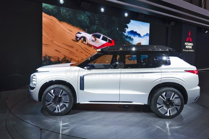 Genf-Internationale Automobilausstellung 2019 lizenzfreies stockbild