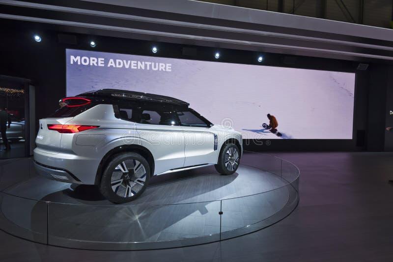 Genf-Internationale Automobilausstellung 2019 stockfoto
