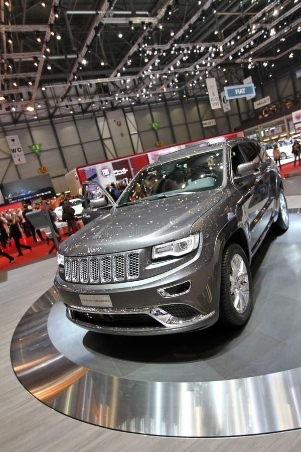 Jeep-großartiges Cherokee stockbild