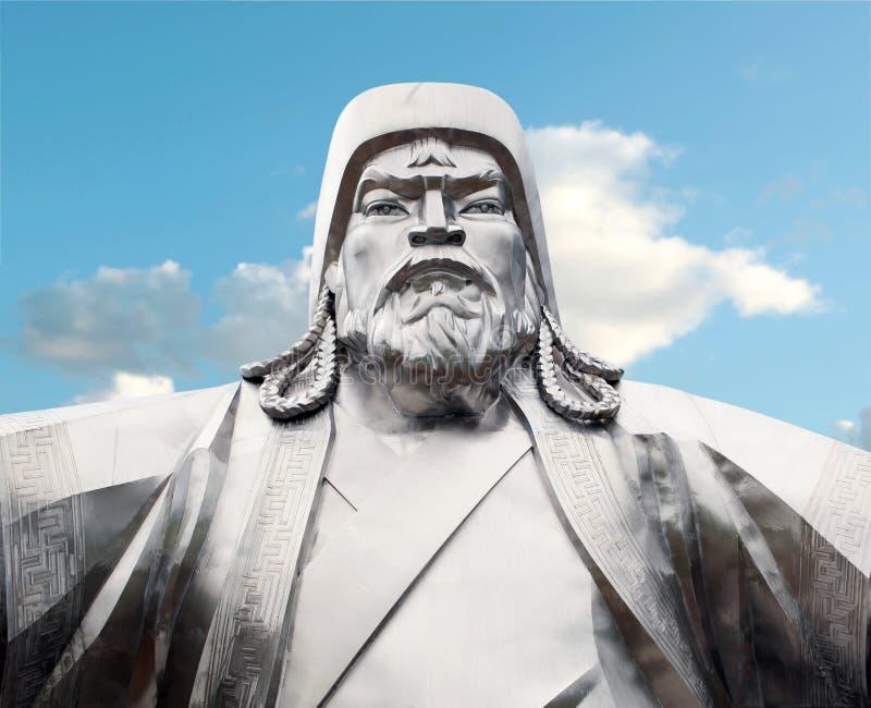 Genghis Khan stock afbeelding