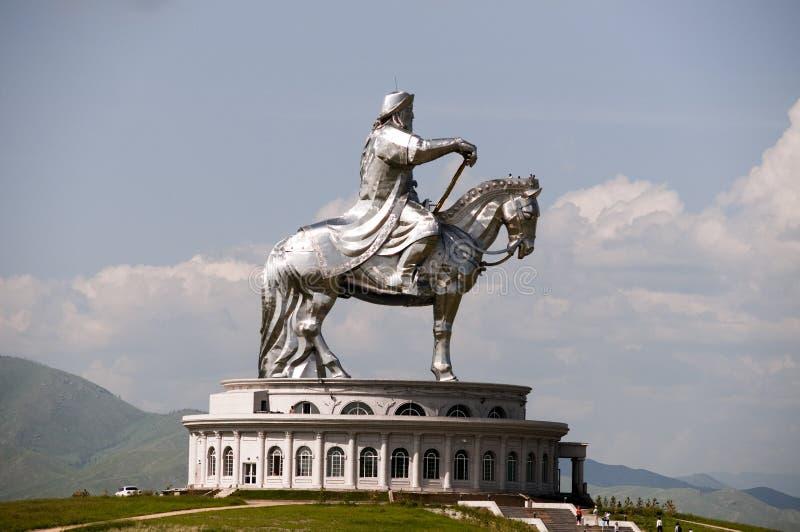 Genghis Khan imagem de stock