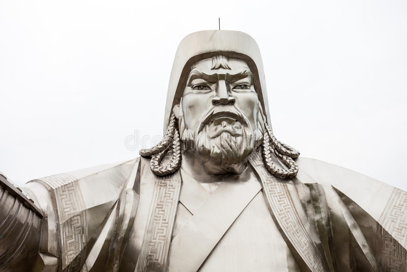 Genghis Khan Equestrian Statue royalty-vrije stock fotografie