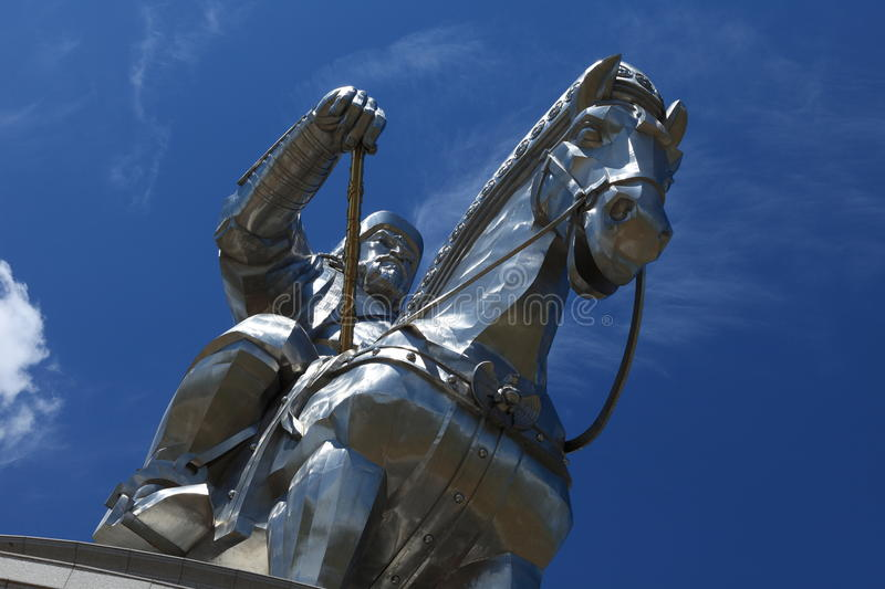 Genghis Khan Monument photo libre de droits