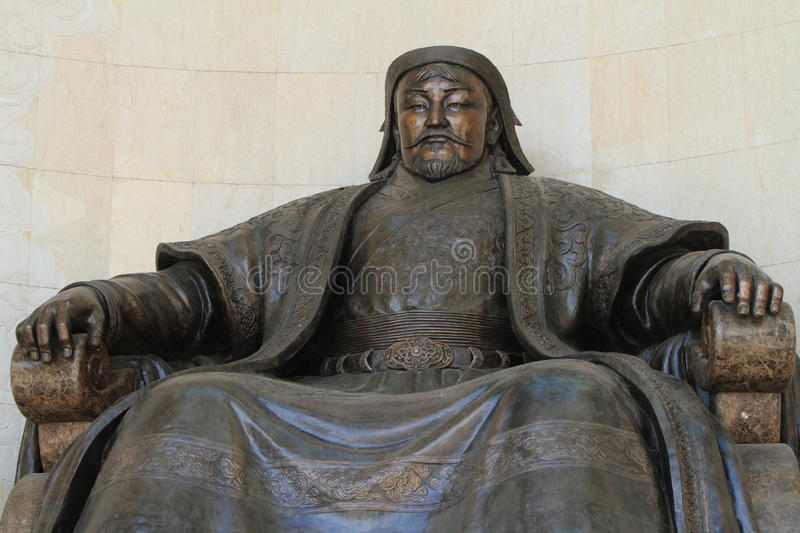 Genghis Khan National Museum stockfotografie