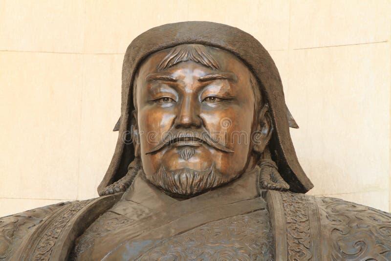 Genghis Khan National Museum. Ulaanbaatar stock photography
