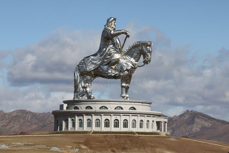 genghiskhan Монголия стоковые изображения rf